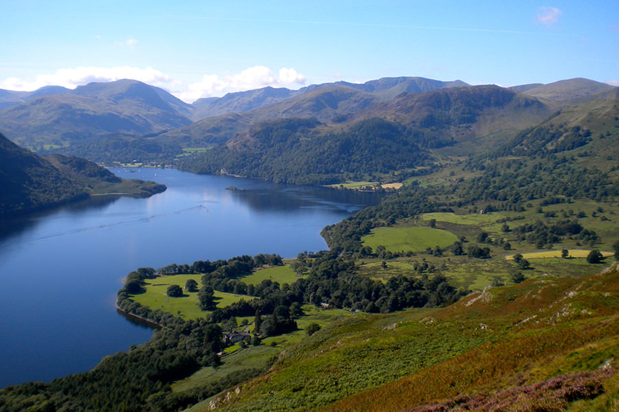 The beautiful lake district